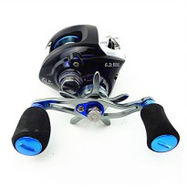 Gulungan Pancing Metal Fishing Spinning Reel 12+1 Ball Bearing - Blue