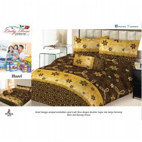 Sprei Lady Rose 160x200 Queen terlaris Hazel