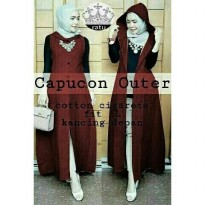 Best sun dress muslim hijab outer only Terbaru