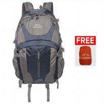 Luminox Hiking Backpack 5036 50L - Navy Blue + Free Bag Cover
