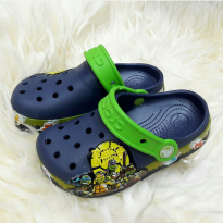 Sandal Anak Crocs Ninja Turtle LED
