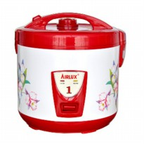 Airlux Electric Rice Cooker Capacity 1.8 liter 3in1 function (Cooker,Warmer,Steamer) RC9218