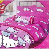 Sprei hello kitty lady rose HK pink 180x200