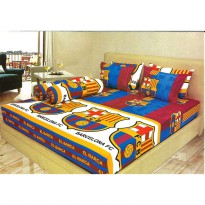 Sprei Lady Rose 180x200 King terlaris FC Barcelona / Barca