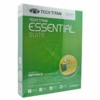 Termurah Kaspersky Tech Titan Essential Suite 1 User