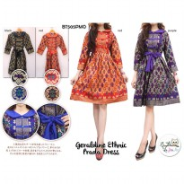 Geraldine Prada Ethnic Dress
