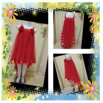 gaun pesta /dress anak ekor