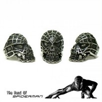 Skull Ring Spiderman - Cincin Tengkorak Spiderman