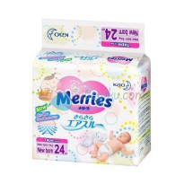 Merries Newborn 24 Tape Size Newborn - 5kg