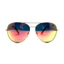 Kalibre Eyewear Kacamata Aviator Pantai Beach Fashion Sunglasses Anti Uv Polarized Fire Lens 066