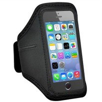 Padded Material Sports Armband Case for iPhone 5/5s/SE - ZE-AD005 - Black