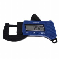 Carbon Fiber Composites Digital Thickness Caliper Micrometer Guage - Blue