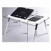 meja laptop / NetBook Portable (E-Table type: LD09)