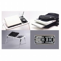 Meja Laptop Portable Lipat E-Table MURAH