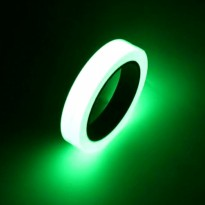 Glow In The Dark Luminous Adhesive Tape 1.5 cm x 10 m / Lakban - Multi-Color