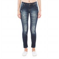 People's Denim Women Karina Jeans - Biru