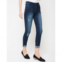 People's Denim Women Sofiya RU Jeans - Biru