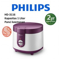 PHILIPS RICE COOKER 1 LITER HD - 3116