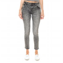 People's Denim Ladies Jeans Leona - Abu-abu