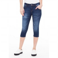 People's Denim Ladies Jeans Raven 7/8 Slim Fit - Biru