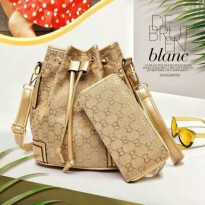 NEW TAS FASHION IMPORT 2IN1 KODE G003