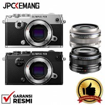 Olympus PEN-F Body Kit M.Zuiko Digital 17mm F/1.8 GARANSI RESMI
