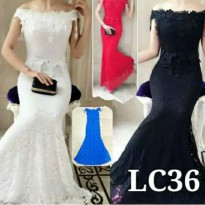 party long dress brokat