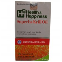 Kalbe Biokos H2 Health & Happiness Superba Krill Oil - 30 Kaplet