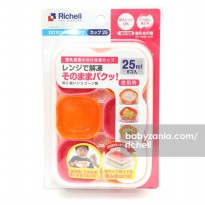 Richell Dividable Freezing Cup 25ml - Orange Pink