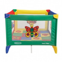 Graco Pack n Play Playard Tot Blocks - Bugs Quilts