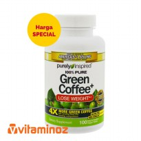 Purely Inspired Green Coffee (Lose Weight) - 100 Veggie tablet