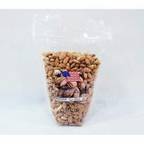 Roasted Almond / Kacang ALmond Panggang 1 kg Tanpa Cangkang ORIGINAL USA-CALIFORNIA