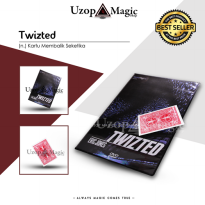 Twizted By Eric Jones (Alat sulap)