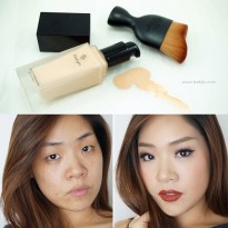 LIQUID MAKEUP MAKE UP BEDAK FOUNDATION SPF PA 30 by EITY EIGHT BEST SELLER - FREE BRUSH