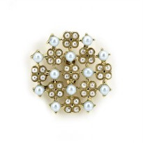 BROSS FASHION SOPHIE MARTIN IDONA BROSS PEARL BR268P5 IMPORT KOREA
