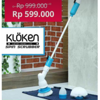 Promo - Kloken Spin Scrubber - Sikat Multi Fungsi - As Seen On TV