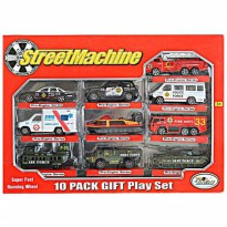 DIECAST STREETMACHINE METAL PLAY SET