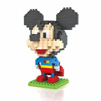 LOZ 9419 GIFT LARGE SUPERMAN MICKEY