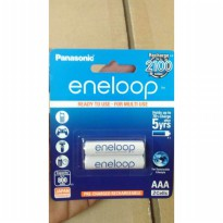 Baterai isi ulang Eneloop A3/ AA 800 mAH rechargeable battery (isi 2)