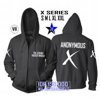 Jaket Sweater Anonymous X Series 2018