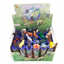 Best education toys - Animal world  packing tabung Mika usia 3+ macam macam binatang