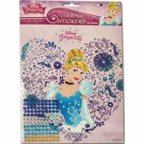 MM Stickers DIAMOND STICKER PRINCESS DL-DS002