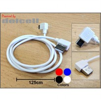 Zaxti 125cm Straight Cable Max.2A by Delcell