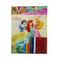 MM Stickers DISNEY 3D EVA PAINTING STICKERS DL-EP002
