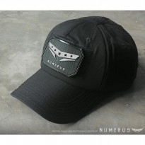 (Dijamin) Numerus Tactical Cap / Topi / Baseball / Velcro / Hat / Outdoor