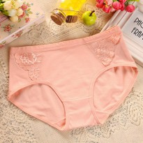 Celana Dalam Katun Renda New Briefs Lace Cotton Panty Ladies Underwear