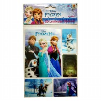 MM Stickers DISNEY 3D LENTICULAR STICKERS FROZEN