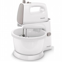 Philips Stand Mixer HR1559 - Abu2 putih