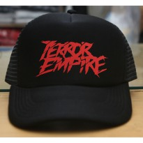 JersiClothing Topi Trucker Terror Empire - Hitam