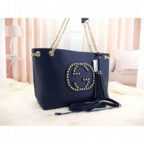 DJ Fahsion The Elegant Woman Bag - Navy Blue